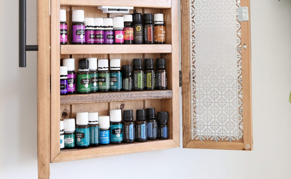 Essential Oils Cabinet