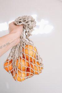 Linen mesh produce bag- Eco Friendly