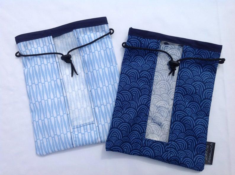 Plastic alternative dry goods bag